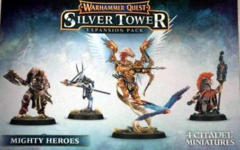 Warhammer Quest Silver Tower Expansion Pack: Mighty Heroes