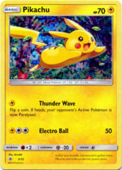 Pikachu 5/12 Confetti Holo Promo - 2017 McDonald's Collection