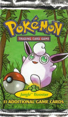 Pokemon Jungle Unlimited Edition Booster Pack - Wigglytuff Artwork