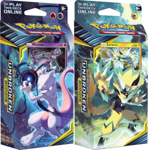 Pokemon Sun & Moon SM10 Unbroken Bonds Theme Decks: Set of 2