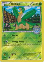 Tropius 5/101 Crosshatch Holo STAFF Promo - 2014 National Championships