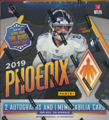 2019 Panini Phoenix NFL Football Hobby Box