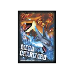 Pokemon Standard Size Sleeves - Mega Charizard - 65ct