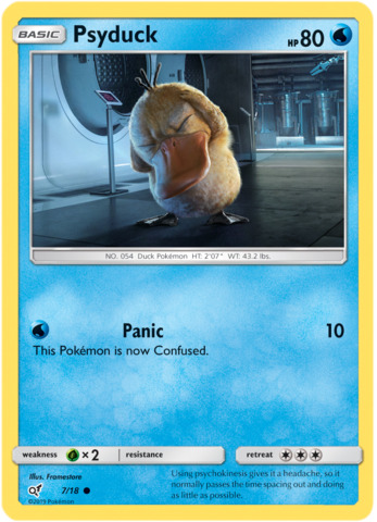 Psyduck - 7/18 - Holo Common
