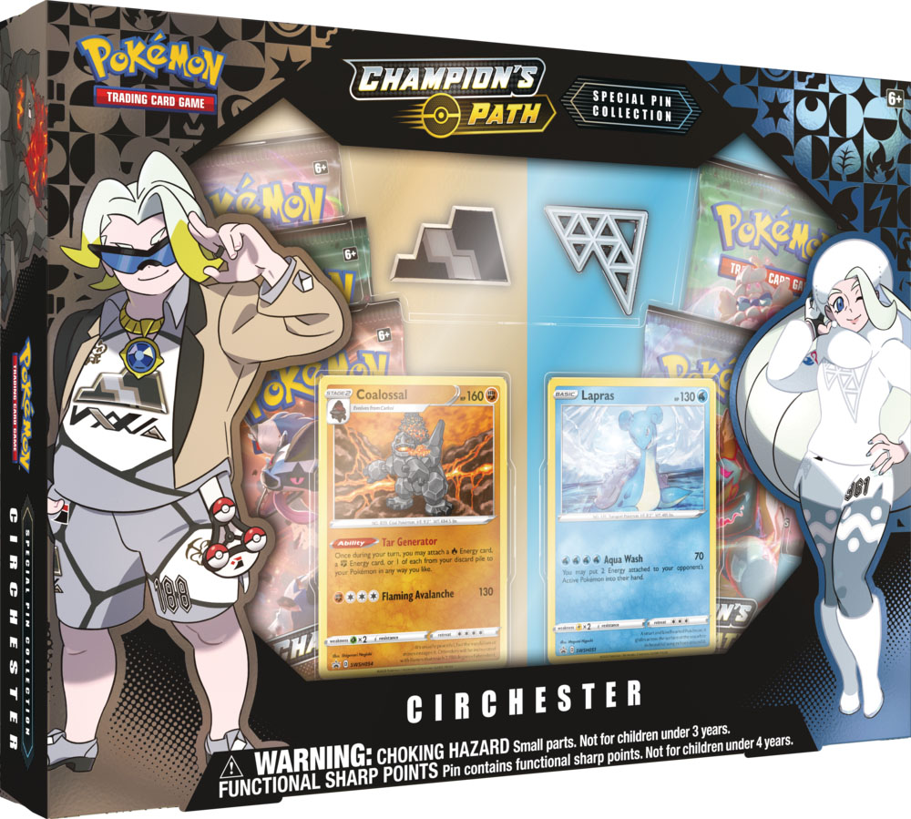 Pokemon Champions Path Special Pin Collection - Circhester Gym