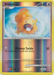 Bidoof - 91/147 - Common - Reverse Holo