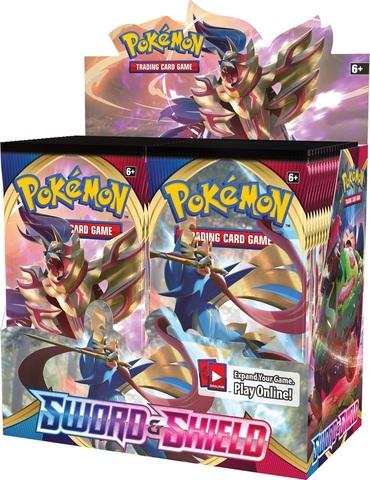 Pokemon SWSH1 Sword & Shield Base Set Booster Box