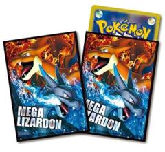 Japanese Pokemon XY Mega Charizard X & Y Sleeves 32ct