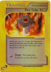 Fire Cube 01 - 122/147 - Uncommon - Reverse Holo