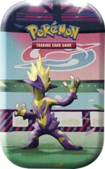Pokemon Galar POWER Mini Tin - Toxtricity