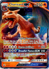 Charizard GX SM195 Wave Holo Promo - Detective Pikachu Charizard GX Special Case File