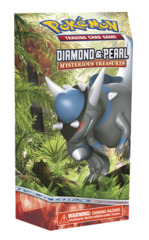 Pokemon Diamond & Pearl DP2 Mysterious Treasures Theme Deck: