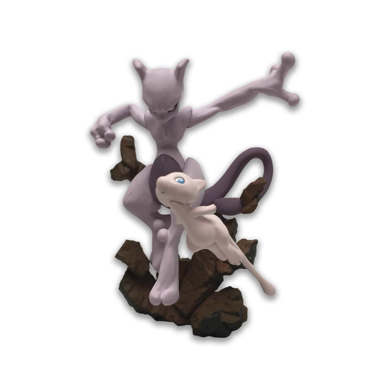 mew mewtwo figure super premium collection mew mewtwo