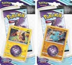 Pokemon SWSH6 Chilling Reign Checklane Blisters - BOTH Checklane Blisters