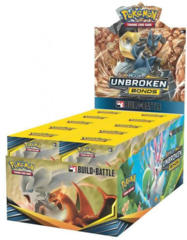 Pokemon Sun & Moon SM10 Unbroken Bonds Prerelease Build & Battle Kit Display Box
