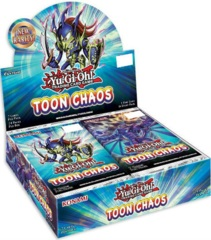 Yu-Gi-Oh Toon Chaos Unlimited Edition Booster Box -- PREORDER!