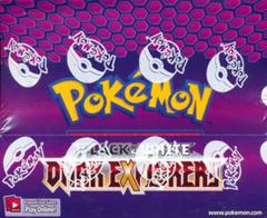 Pokemon Black & White BW5 Dark Explorers Theme Deck Display Box