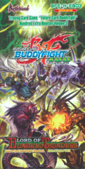 Buddyfight BFE-H-EB03 Lord of Hundred Thunders Booster Box