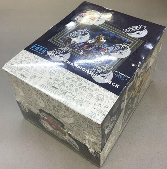Pokemon 2019 World Championships Decks Display Box