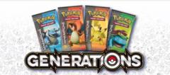 Pokemon Generations 36ct Booster Pack Lot