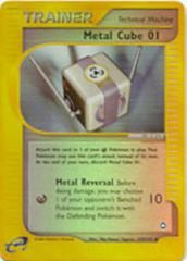 Metal Cube 01 - 129/147 - Uncommon - Reverse Holo