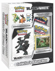 Pokemon Black & White Collector's Album Box