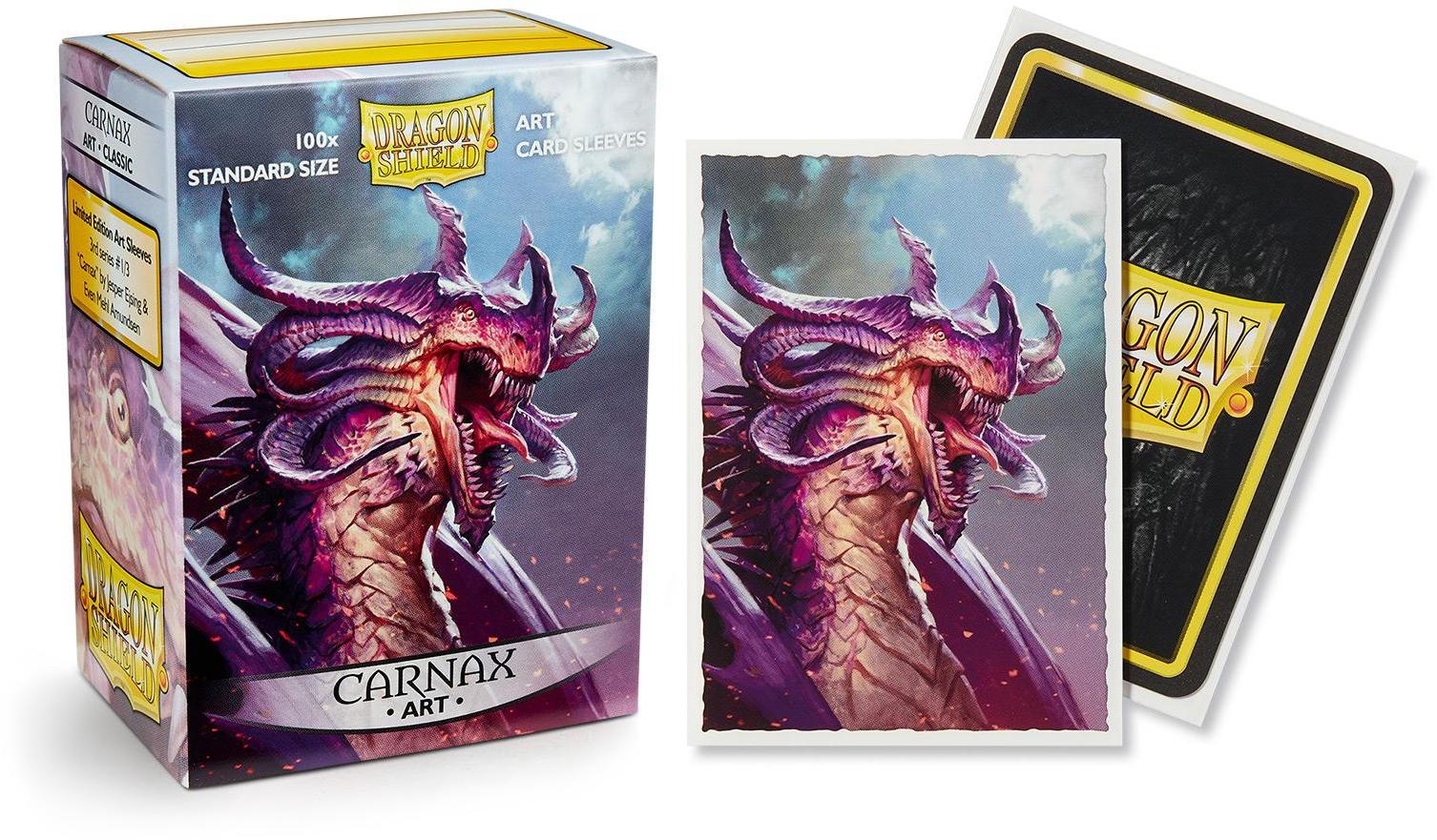 Dragon Shield Classic Art Standard-Size Sleeves - Carnax -1090