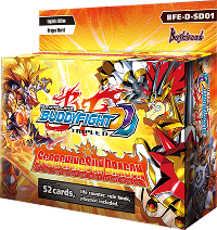 Buddyfight BFE-D-SD01 Scorching Sun Dragon Start Deck
