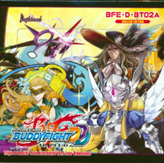 Buddyfight BFE-D-BT02A Four Dimensions Booster Box