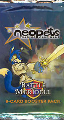 Neopets Card Game TCG Battle for Meridell Booster Pack