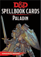 Dungeons & Dragons 5th Edition Spellbook Cards: Paladin