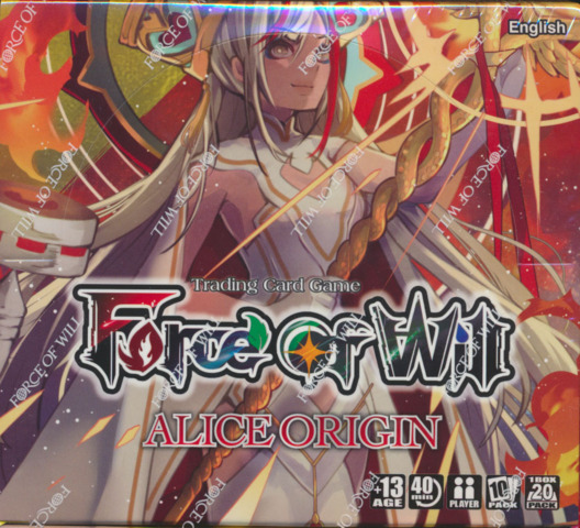 Force of Will AO1: Alice Origins Booster Box