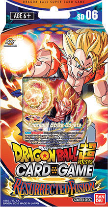 Dragon Ball Super Card Game DBS-SD06 Series 5 Starter Deck Ressurected Fusion