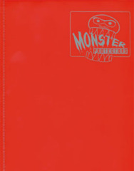 Monster Protectors 4-Pocket Binder - Matte Red