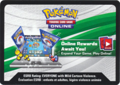 Mythical Pokemon Collection - Shaymin Code Card