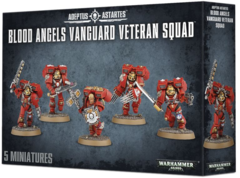 Adeptus Astartes Blood Angels Vanguard Veteran Squad