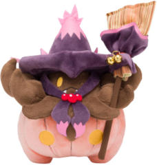 Japanese Pokemon Center We are Team Trick Pumpkaboo Plush