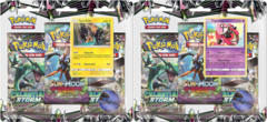 Pokemon Sun & Moon SM7 Celestial Storm 3-Booster Blister Packs: Set of 2