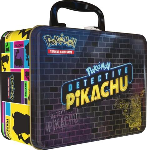 Pokemon Detective Pikachu Collectors Chest Tin
