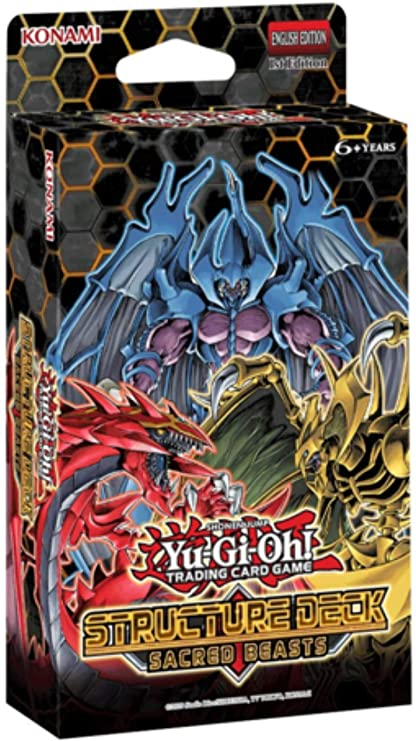 Yu-Gi-Oh Structure Deck: Sacred Beasts - 1st Edition