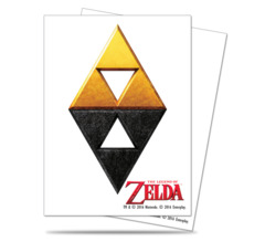 Ultra Pro Standard Size Legend of Zelda Tri-Force Sleeves - 65ct