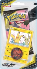 Pokemon Sun & Moon SM9 Team Up Checklane Blister Pack - Pikachu