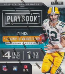 2019 Panini Playbook NFL Football Hobby Box