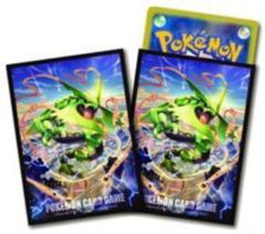 Japanese Pokemon XY6 Roaring Skies Rayquaza Sleeves 32ct