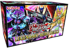 Yu-Gi-Oh Legendary Hero Decks Set