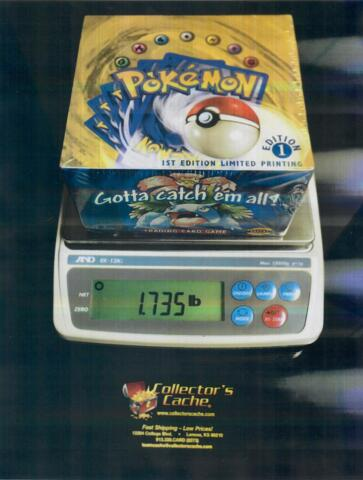 CERTIFIED AUTHENTIC English Pokemon Base Set 1st Booster Box