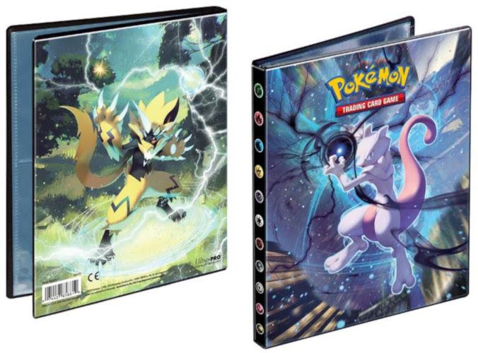 SM08 Sonne und Mond 4-Pocket Portfolio Ultra Pro Pokémon Tauschalbum