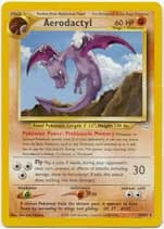 Aerodactyl - 15/64 - Rare - Unlimited Edition