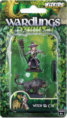 Wizkids Wardlings Miniatures: Witch & Cat