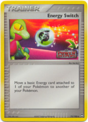 Energy Switch - 75/108 - Uncommon - Reverse Holo